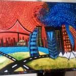Vibrant Cityscape 1
