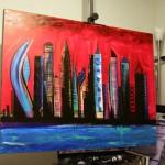 Large cityscape